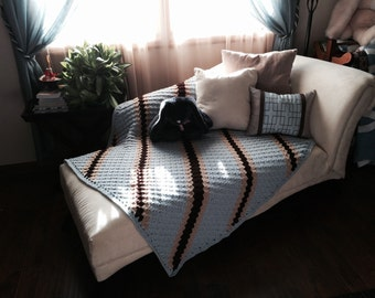 Lap throw, decor, afghan