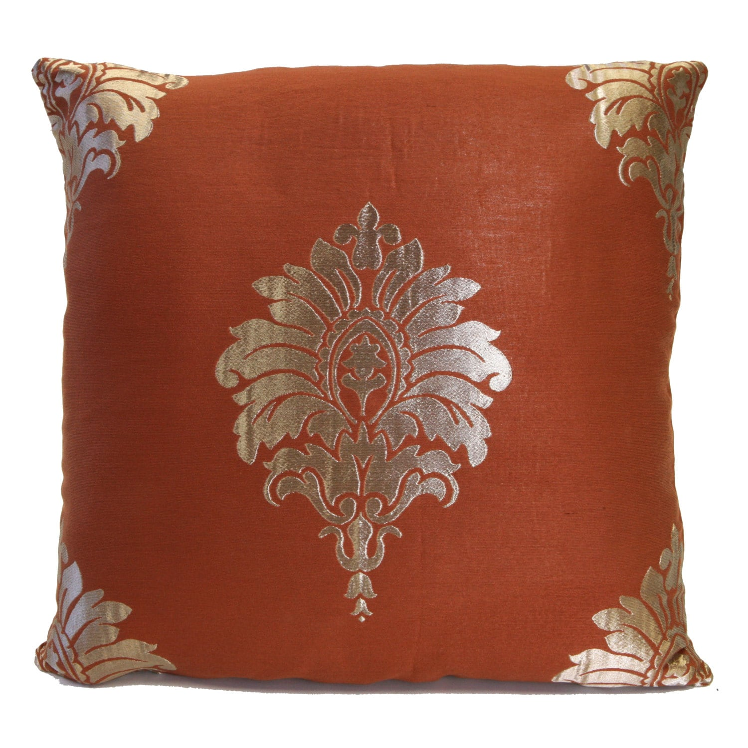 Throw Pillow Rust : Cinnamon Rust Pillow Throw Pillow Cover Decorative Pillow