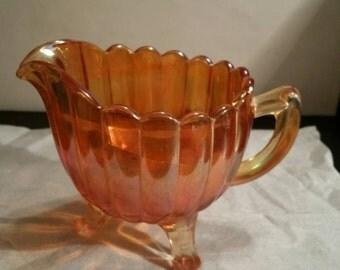Carnival  Glass Creamer