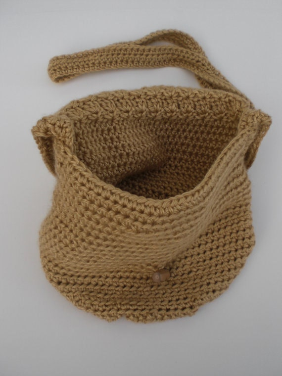 Crochet Bucket Bag Pattern : Crochet Bag Pattern -Wildflower Shoulder Bag Pattern with Instructions ...