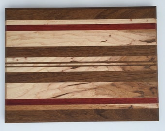 Handmade Exotic Wood Cutting Board