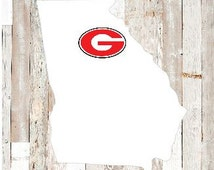 """3"""" Georgia Decal"""
