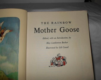 The Rainbow Mother Goose from 1947