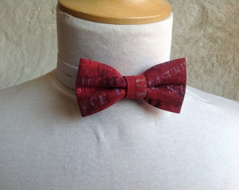 red bow tie for children