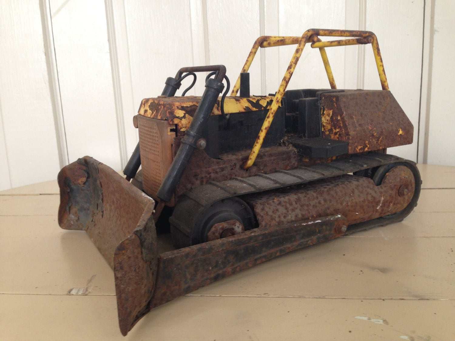 Toy Construction Equipment : Vintage tonka t dozer toy construction equipment