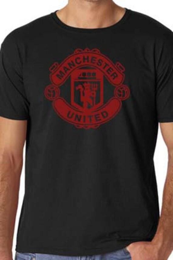 Gray Manchester United Fc T Shirt Custom Soccer By Gr8tergoods