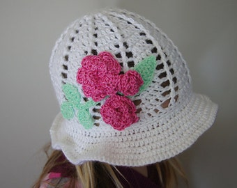 Spring Cloche (Panama) Hat PATTERN