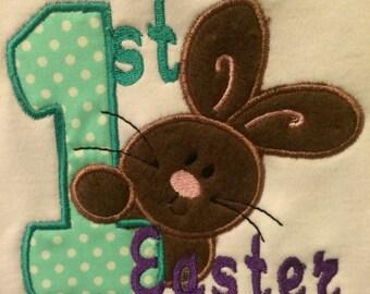 1st Easter Bib