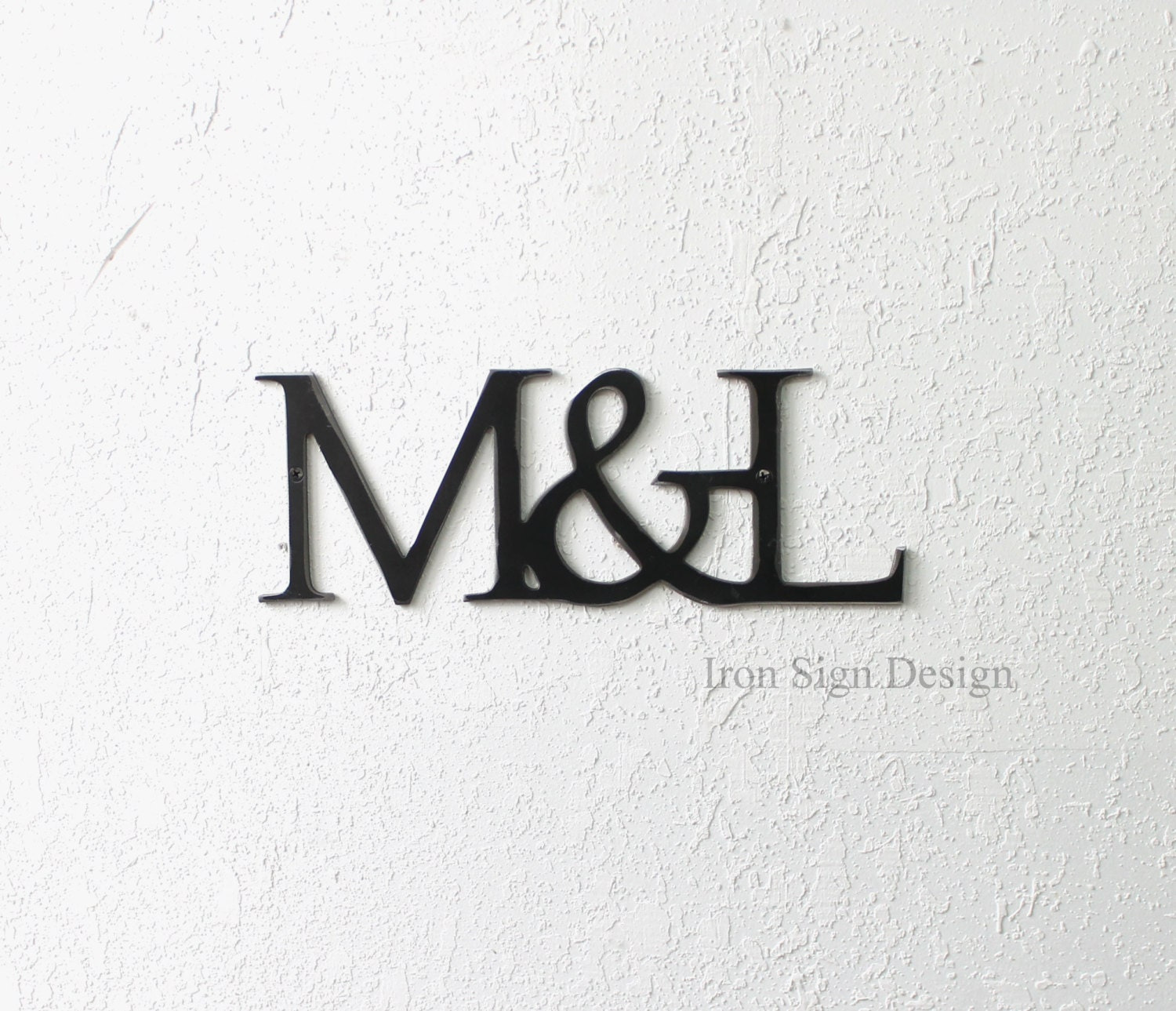 DIY Picture Wall Decor Iron Anniversary Gift 6th Wedding Room Metal Art Make Your Own Valentine