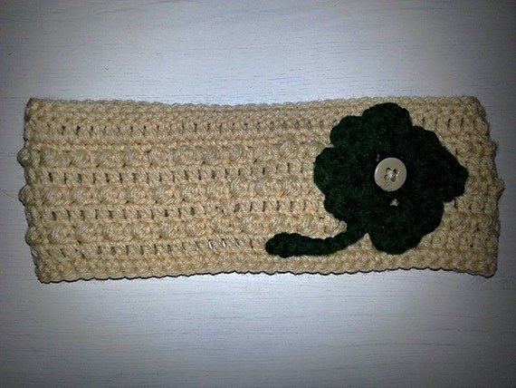 Free Adjustable Crochet Headband Pattern : Adjustable crochet womens headband ear by LoopsAndPullsbyHS