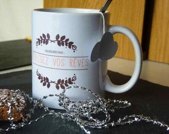 "mug ""realize your dreams"""
