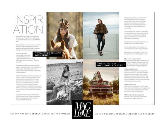 magazine article template