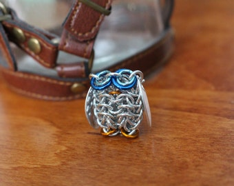 Chainmaille Snowy Owl