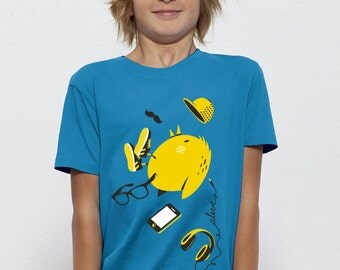 HIPSTER BIRD T-Shirt Kids