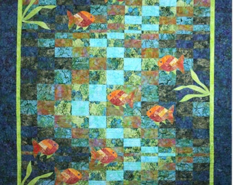 Molokini Bay quilt pattern