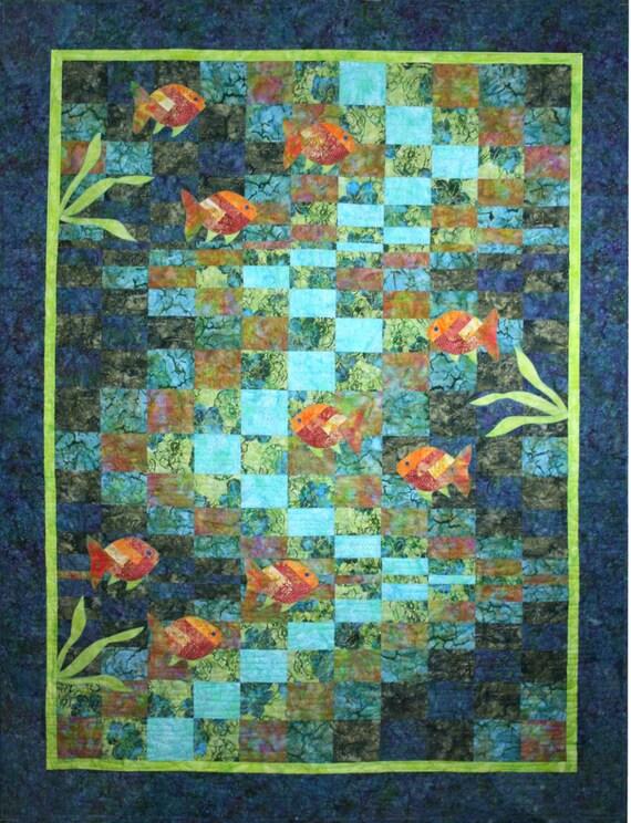 Molokini Bay Quilt Pattern