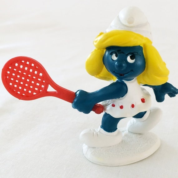 Smurfette from Etsy