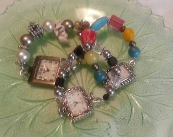 Interchangeable Watch or Medical Id Bracelet