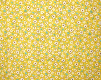 Feedsack VC 1930 by Windham Fabrics  -- #28977-Yellow Floral -- 100% Cotton