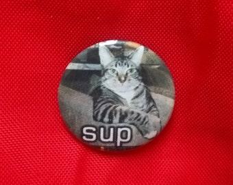 "SUP Cat 1"" Pin"