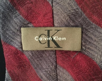 Vintage 80's Calvin Klein Tie                                   VGO797
