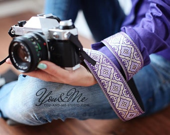 Hand-made camera strap