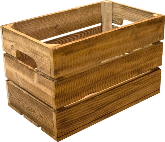 Traditional cedar apple crate classic vintage for Apple crate furniture