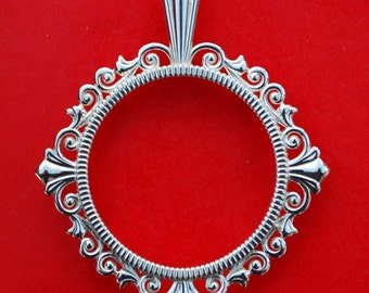 Solid 925 Sterling Silver Coin Bezel Mount Frame Settings Fit US Nickels and Other 21mm ~ 21.25mm Diameter Coins
