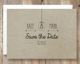 Save The Date- Custom Printable