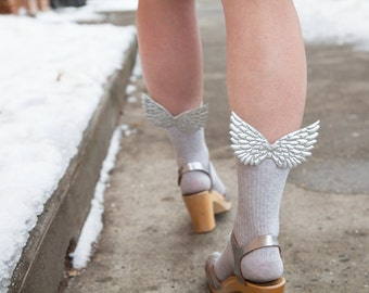 Silver Wing Hermes Socks