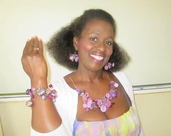Bead or button Bracelet