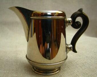 Vintage little metal milk jug 1930s