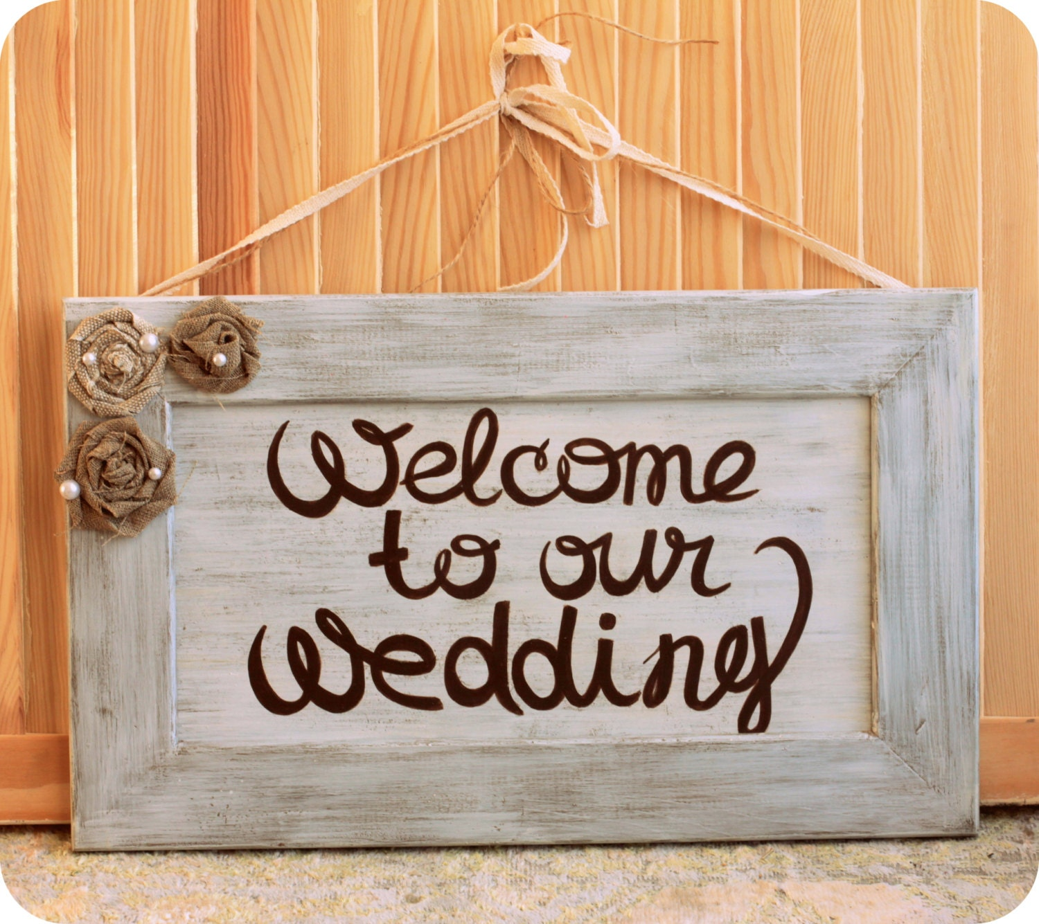 Wedding Welcome Sign Reception Signage Wood Wedding Sign