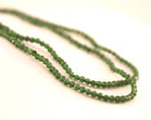Green Faceted Jade Beads ...