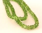 Medium Green Peridot Gems...
