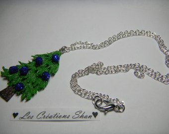 Necklace Christmas tree
