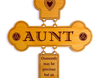 Custom Aunt Appreciation gift / Aunt Keepsake Plaque, An Aunt like you is Priceless Sign, Aunt Appreciation Wall Hanging, Special  Aunt Gift