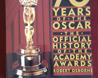 Commemorative 70 Years of the Oscar: The Official History of the Academy Awards