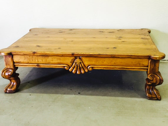 Lovely Claw Foot Coffee Table By Thefrenchtreasure On Etsy
