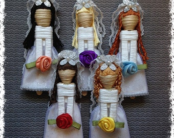 Worry Dolls - Bride Worry Doll