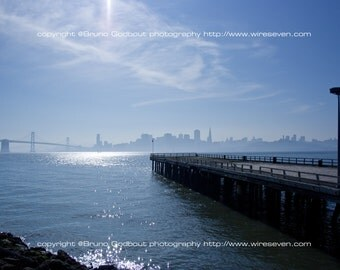 SF from Treasure in the morning - San Francisco, CA  2009