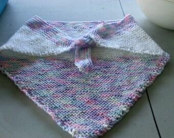 handknitted kerchief