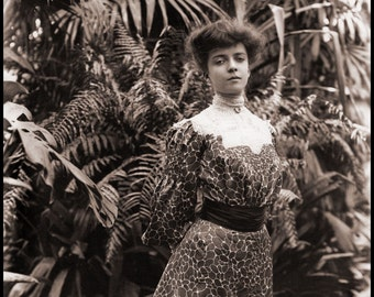 "Frances Benjamin Johnston Photo, ""Alice Roosevelt"" 1902"