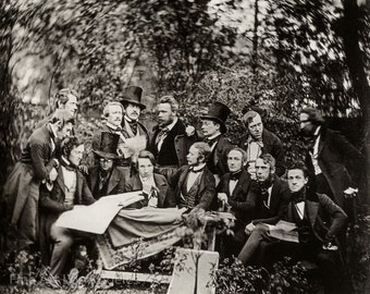 CF Stelzner Photo, The Hamburg Artist Club, 1843