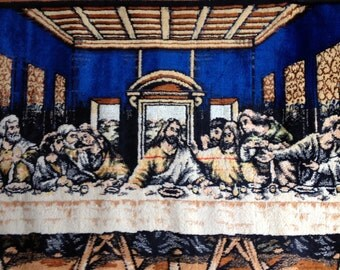 Art-Pictures-Vintage Last Supper Tapestry