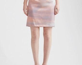 Sunset Silk Skirt