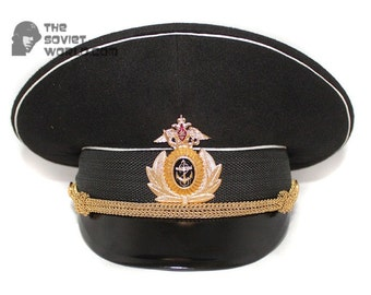 Russian Fleet Naval Officer's visor hat