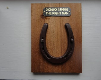 Good Luck Plaques