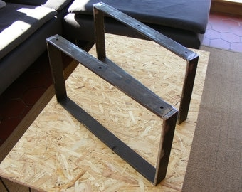 Low table Iron legs flat height 30 or 35 cms