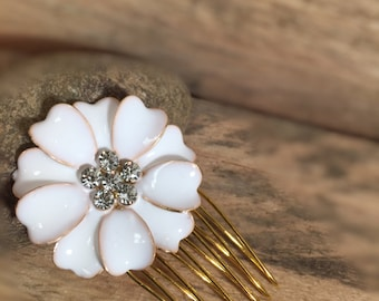 Sweet Flower Hair Comb